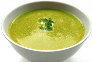 green summer soup holistic yoga