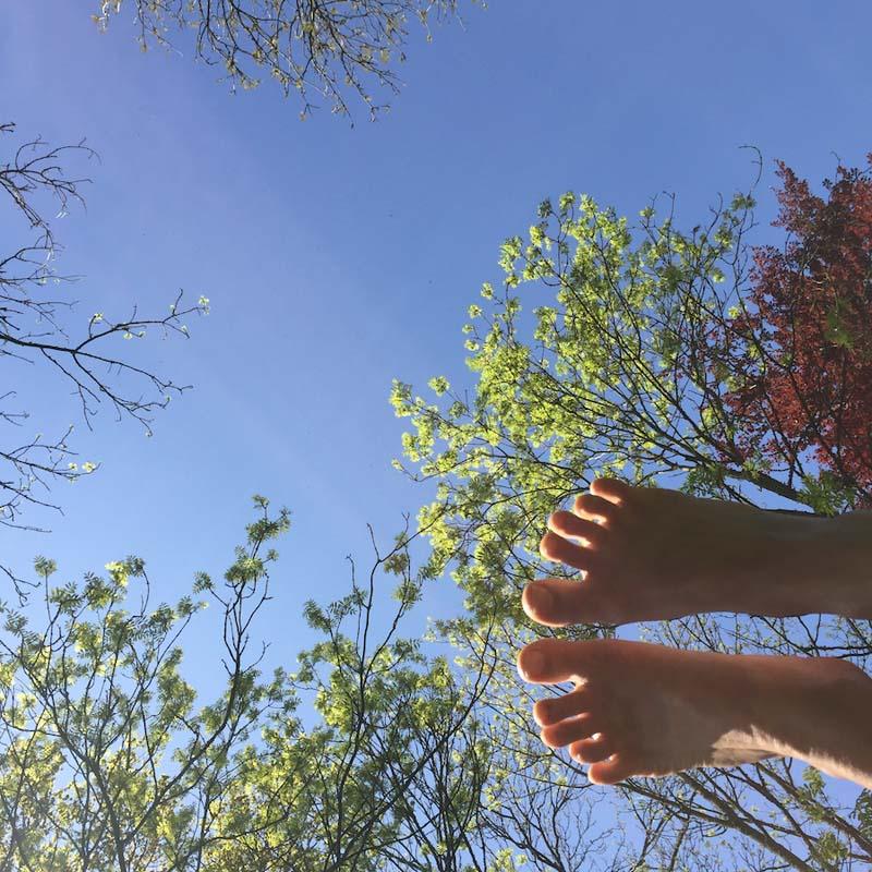 gentle and restorative yoga retreat sky