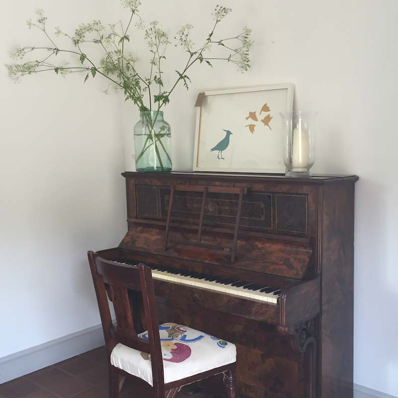 yoga and sound retreat piano