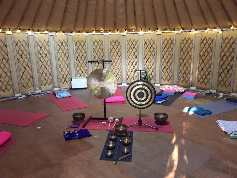 yoga and sound retreat