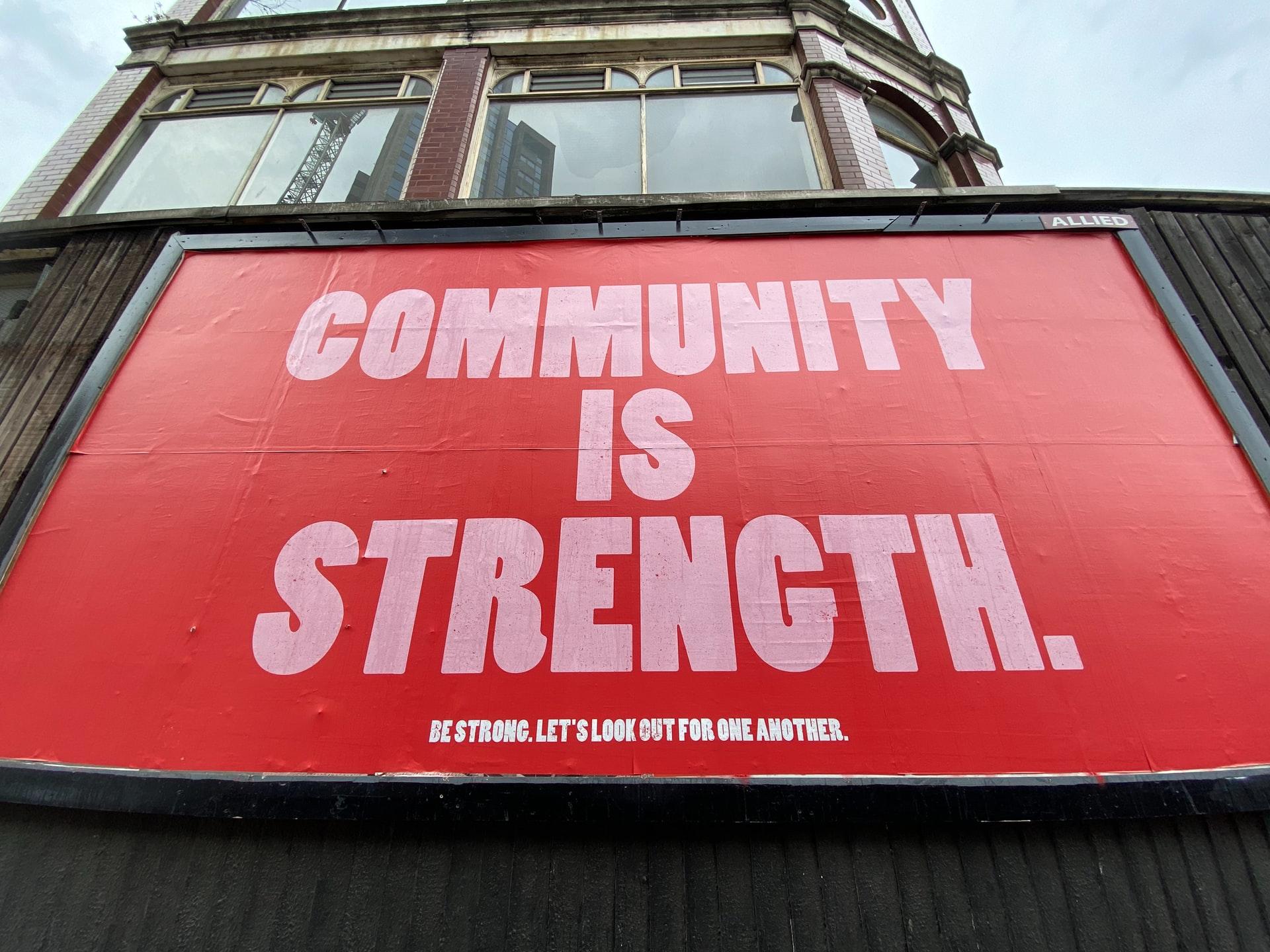 gentle yoga inspiration - community is strength